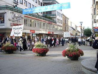 Quds Day - March in Malmö, Sweden; Al-Quds Day 2008