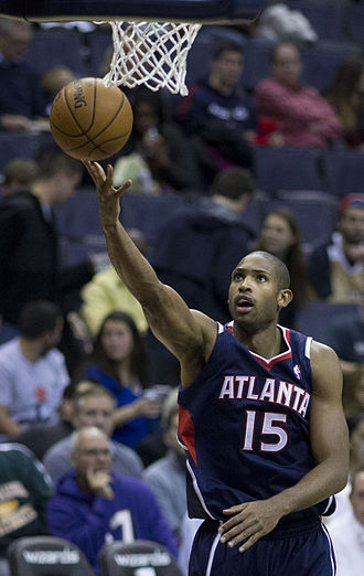Al Horford - Horford with the Hawks in November 2013