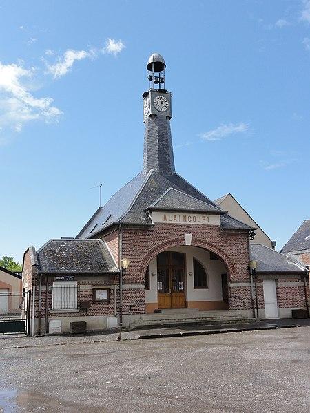 Alaincourt (Aisne) mairie