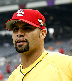 Albert Pujols - Pujols at the 2006 All-Star Game