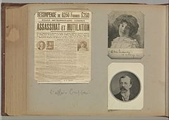 Album of Paris Crime Scenes - Attributed to Alphonse Bertillon. DP263825.jpg