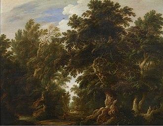 Alexander Keirincx - Alexander Keirincx, Landscape with Deer Hunt, 1630. Royal Museum of Fine Arts, Antwerp.