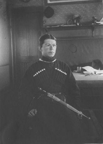 Alexei Ivanovich Avtonomov - Alexei Avtonomov, 1919.