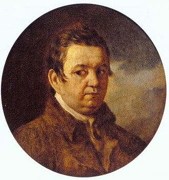 Alexei Yegorovich Yegorov - Self-portrait