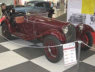 Alfa Romeo Gran Sport Quattroruote - The inspiration for the Gran Sport Quattroruote, the 1930 6C1750 Gran Sport Spider Zagato