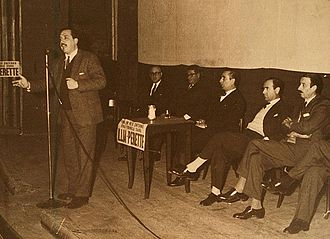 Raúl Alfonsín - Alfonsín during his successful 1963 congressional campaign