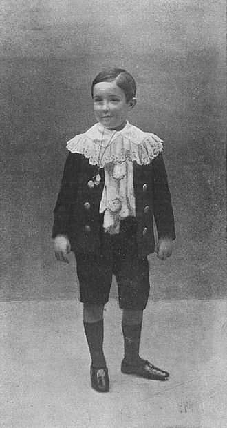 Infante Alfonso, Duke of Calabria - Photographed by Christian Franzen, 1907