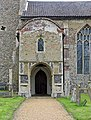 All Saints Church, Ashwelthorpe, Norfolk - Porch - geograph.org.uk - 852992.jpg