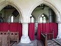 All Saints Church, Boughton Aluph, Kent - North arcade - geograph.org.uk - 811747.jpg