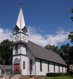 National Register of Historic Places listings in Rice County, Minnesota - Image: All Saints Church Northfield