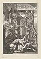 Allegorische voorstelling met portretten van Lodewijk II en Armand de Bourbon-Condé bij het paleis van Welsprekendheid Titelpagina voor Palatium reginae eloquentiae, 1641, RP-P-OB-43.714.jpg