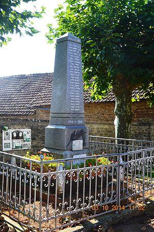 Allerey - Allerey War Memorial