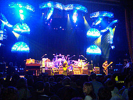 The Allman Brothers Band live in 2010 bij United Palace Theatre in New York