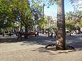 Alrededores de la plaza de armas de santiago 01, septiembre del 2013.JPG