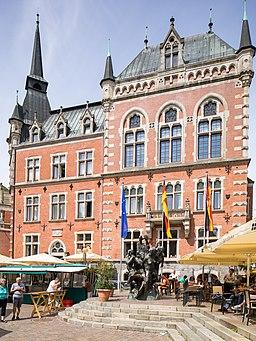 Altes Rathaus Oldenburg Ostansicht