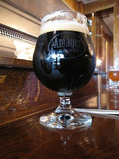 Porter (beer) a dark style of beer developed in London from well-hopped beers made from brown malt