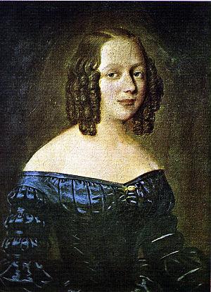 Henrik Wergeland - Amalie Sofie Bekkevold. (1842)