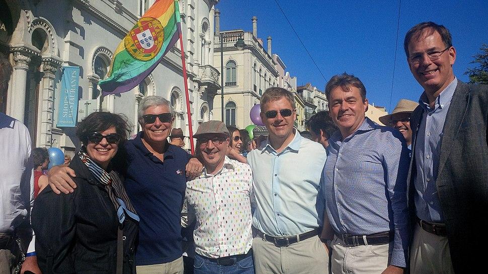 Ambassador Sherman at Lisbon Pride