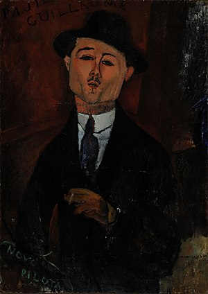 Paul Guillaume - Amedeo Modigliani, Paul Guillaume – Novo Pilota, 1915