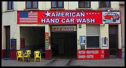 American Car Wash in Belgium - panoramio