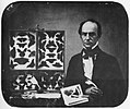 Amerikanischer Photograph um 1850 - Der Schmetterlingssammler (Zeno Fotografie).jpg