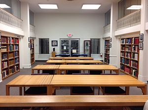 Amistad Research Center - The reading room at the Amistad Research Center