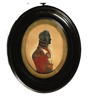 64th (2nd Staffordshire) Regiment of Foot - An officer of the 64th (2nd Staffordshire) Regiment of Foot, c.1805