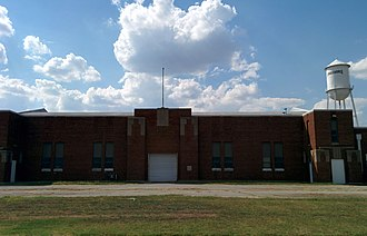 National Register of Historic Places listings in Caddo County, Oklahoma - Image: Anadarko Armory