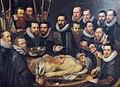 Anatomische les door Dokter van der Meer van Michiel en Pieter van Mierevelt.jpg