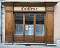 Ancien salon de coiffure, rue de la Liberté (Embrun) en juillet 2019.jpg