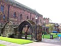 Ancient walls at Carlisle Cathedral - geograph.org.uk - 1003065.jpg
