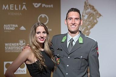 Andreas Anja Vojta Gala Nacht des Sports Österreich 2015.jpg