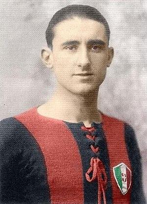Angelo Schiavio - Image: Angelo Schiavio 1925 Bologna FC