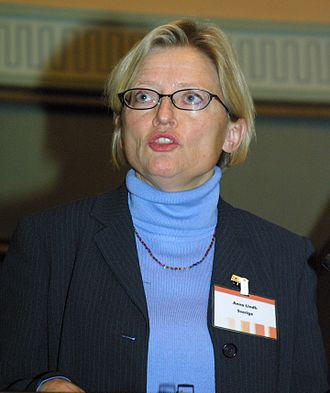 Anna Lindh - Anna Lindh in October 2002