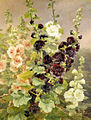 Anthonore Christensen - Hollyhocks, 1894.jpg
