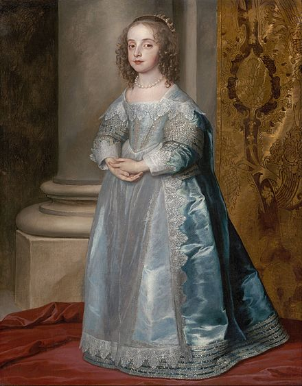 Princess Mary, Daughter of Charles I; by Anthony van Dyck, ca. 1637 Anthony van Dyck - Princess Mary, Daughter of Charles I - Google Art Project.jpg