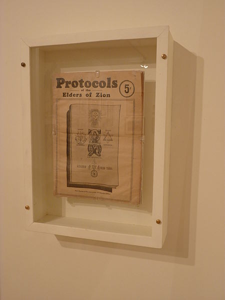 File:Anti-Semitic Book-Protocols with a star of David (5) (6940995981).jpg