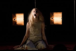 Mavie Hörbiger - As Ismene in Antigone, Burgtheater 2015