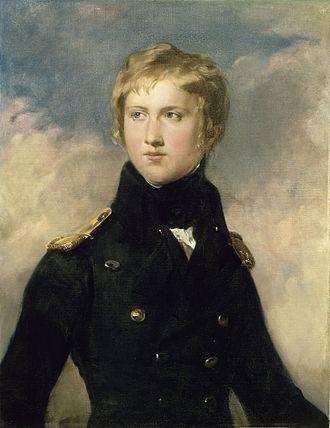 Antoine Philippe, Duke of Montpensier - The Duc de Montpensier, in the uniform of a lieutenant-colonel, as adjutant general—portrait by Amédée Faure (Versailles, Musée national des Châteaux et Trianons)