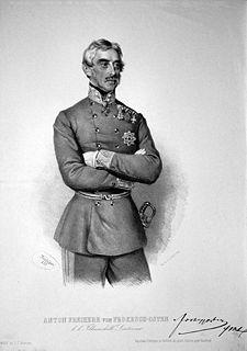Anton von Prokesch-Osten Austro-Hungarian diplomat, statesman and general