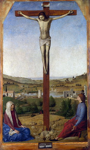 Crucifixion (Antonello da Messina) - Image: Antonello da Messina 028