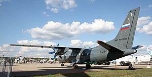 Antonov An-140 - Antonov An-140-100. Russian Air Force, Russia, 2011