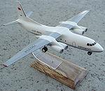 Antonov An-50 scale 1-150 model.jpg