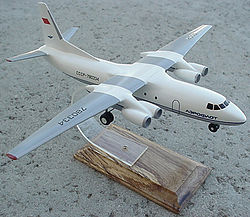 Antonov An-50 scale 1-150 model.jpg