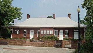 Apex Union Depot United States historic place