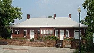 Apex, North Carolina - Apex Union Depot, built in 1914.