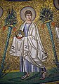 Apostle. Detail of the mosaic in Arian Baptistery. Ravenna, Italy.jpg