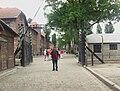 Arbeit macht frei in Auschwitz I.jpg
