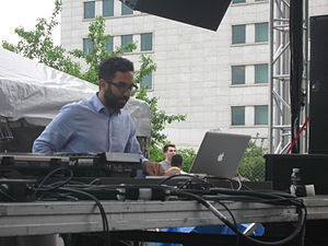 Aril Brikha - Brikha at Detroit Detroit Electronic Music Festival in May 2011