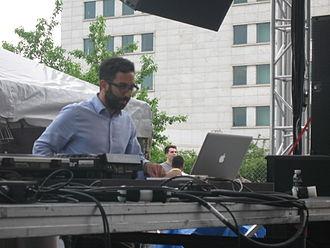 Aril Brikha - Brikha at Detroit Detroit Electronic Music Festival in May 2011